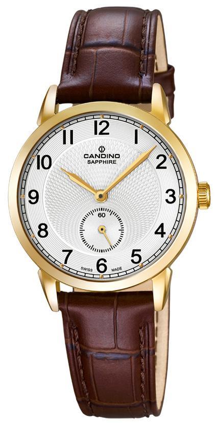 Armbanduhr damen leder braun  Candino Uhr Damen Leder braun gold C4594/1 Armbanduhr | eBay