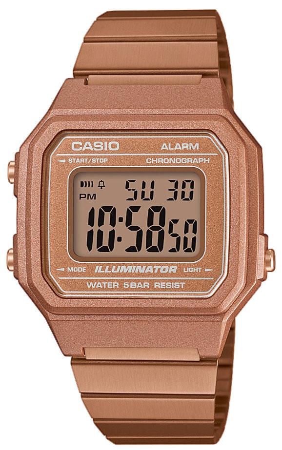 Casio Collection Retro Armbanduhr B650WC-5AEF Digital Uhr Preisvergleich
