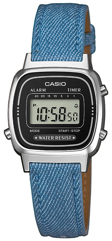 casio uhr retro damenuhr la670wel 2a2ef armbanduhr blau. Black Bedroom Furniture Sets. Home Design Ideas