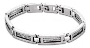 Armband Edelstahl Lotus Style LS1507-2/1 Armschmuck silberfarbig