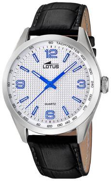 Lotus Uhr Herren Armbanduhr Lederband schwarz 18149/3