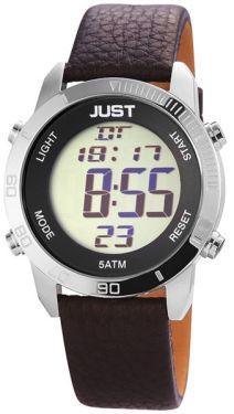 Just Watch Herren Digital Uhr JU200079 braun silber 44 mm