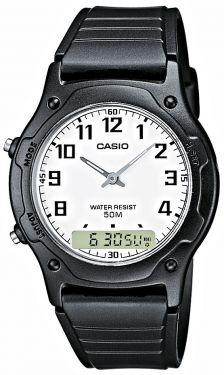 AW-49H-7BVEG Casio Collection Uhr AnaDigi Uhr