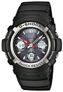AWG-M100-1AER Casio G-Shock Herren Uhr Funk Solar