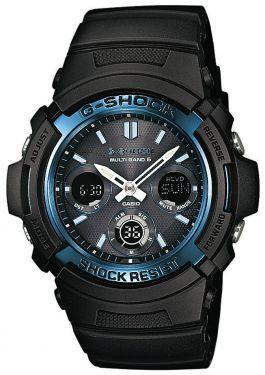 Casio G-Shock Uhr AWG-M100A-1AER Funk Solar blau