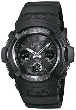 Casio G-Shock Uhr AWG-M100B-1AER Funkuhr Solar schwarz