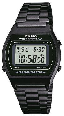 B640WB-1AEF Casio Collection Retro Uhr Digitaluhr schwarz