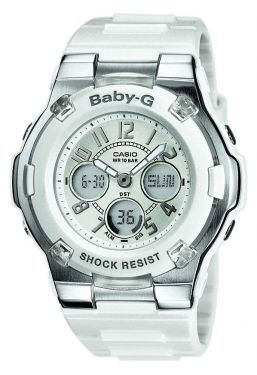 Casio Baby-G Uhr BGA-110-7BER weiss