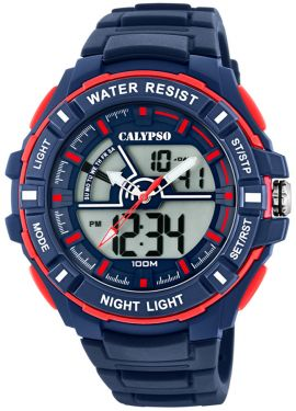 Calypso Watch Herrenuhr AnaDigi Armbanduhr blau K5769/2