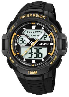 Calypso Armbanduhr Herrenuhr AnaDigi Uhr K5770/4
