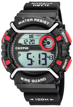 Calypso Armbanduhr Digital Uhr Unisex K5764/6 schwarz Sportuhr