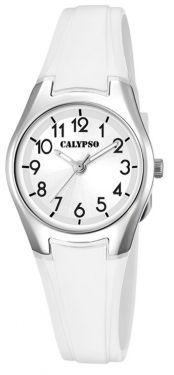Calypso Damenuhr K5750/1 Armbanduhr weiß
