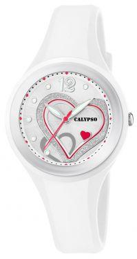 Calypso Mädchen Damen Armbanduhr Herz K5751/1 Girls Watch