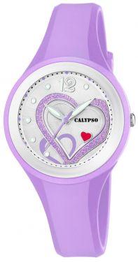 Calypso Mädchen Damen Armbanduhr Herz K5751/2 Girls Watch