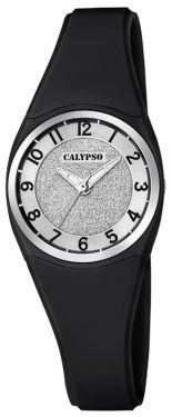 Kinderuhr Calypso Uhr Kids Mädchen Armbanduhr K5752/6 schwarz