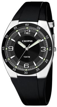 Calypso Herren Uhr Armbanduhr K5753/3 schwarz