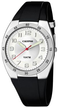 Calypso Herren Uhr Armbanduhr K5753/4 schwarz silber