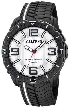 Calypso Herren Armbanduhr analog Uhr K5762/1