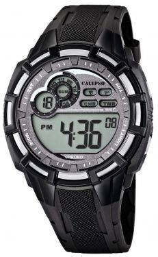 Calypso by Festina Herren Digital Uhr K5625/1 schwarz 10 ATM