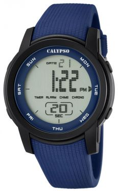 Calypso by Festina Uhr Digital K5698/2 Armbanduhr blau schwarz