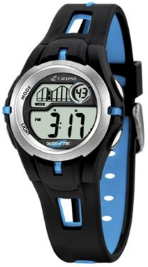 Calypso by Festina Uhr Kinderuhr Digital K5506/4 schwarz blau