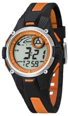 Calypso by Festina Digitaluhr 10 ATM orange K5558/4 Armbanduhr Silikon