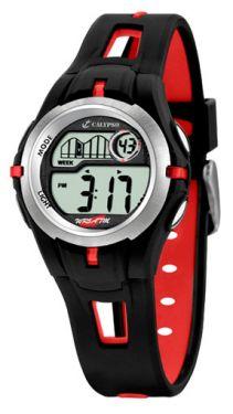 Calypso by Festina Kinder Uhr digital K5506/1 schwarz Armbanduhr Silikon