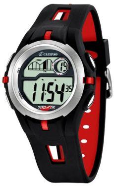 Calypso Uhr Digital Herren K5511/4 schwarz Armbanduhr