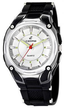 Calypso Herrenuhr by Festina K5560/1 schwarz Armbanduhr