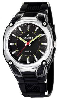 Calypso Herrenuhr by Festina K5560/2 schwarz Armbanduhr