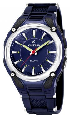 Calypso Herrenuhr by Festina K5560/3 blau Armbanduhr