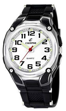 Calypso Herren Uhr by Festina K5560/4 schwarz Armbanduhr