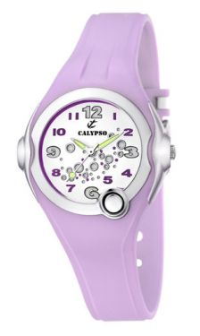 Calypso Damen Mädchen Girl Teenie Uhr flieder K5562/4 Armbanduhr