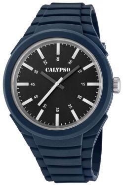 Calypso Uhr Herren Armbanduhr K5725/5 blau schwarz