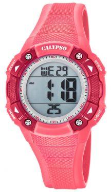 Calypso Damenuhr by Festina Digital Sport K5728/2 rosa