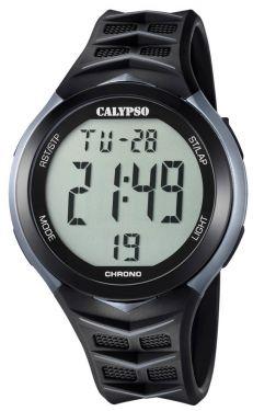 Calypso Uhr Digitaluhr K5730/1 schwarz grau