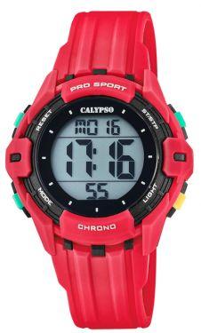 Calypso Kinderuhr Digital Teenager K5740/3 rot