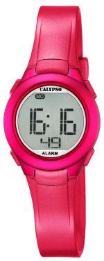 Calypso Jugenduhr Armbanduhr Digitaluhr K5677/4 pink