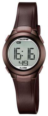 Calypso Jugenduhr Armbanduhr Digitaluhr K5677/6 braun