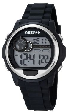 Calypso Digital Herrenuhr K5667/1 Digital Uhr schwarz