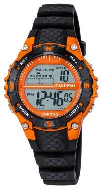 Calypso by Festina Sport Armbanduhr Jugend Uhr K5684/7 schwarz orange