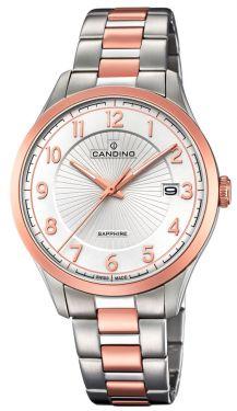 Candino Herrenuhr C4609/1 Armbanduhr Bicolor