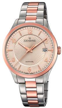 Candino Herrenuhr C4609/2 Armbanduhr Bicolor