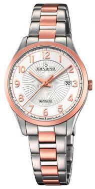Candino Damenuhr C4610/1 Bicolor Armbanduhr Swiss Made