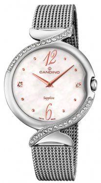 Candino Damenuhr Armbanduhr C4611/1 Milanaiseband Elegance Flair