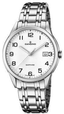 Candino Herrenuhr Armbanduhr C4614/1 Saphirglas Swiss Made