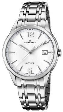 Candino Herrenuhr Armbanduhr C4614/2 Saphirglas Swiss Made