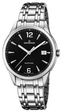 Candino Herrenuhr Armbanduhr C4614/4 Saphirglas Swiss Made