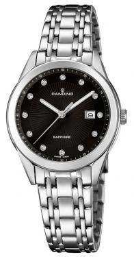 Candino Damenuhr C4615/4 Edelstahl Armbanduhr Saphirglas Swiss Made