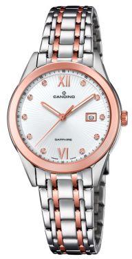 Candino Damenuhr C4617/2 Armbanduhr Saphirglas Swiss Made
